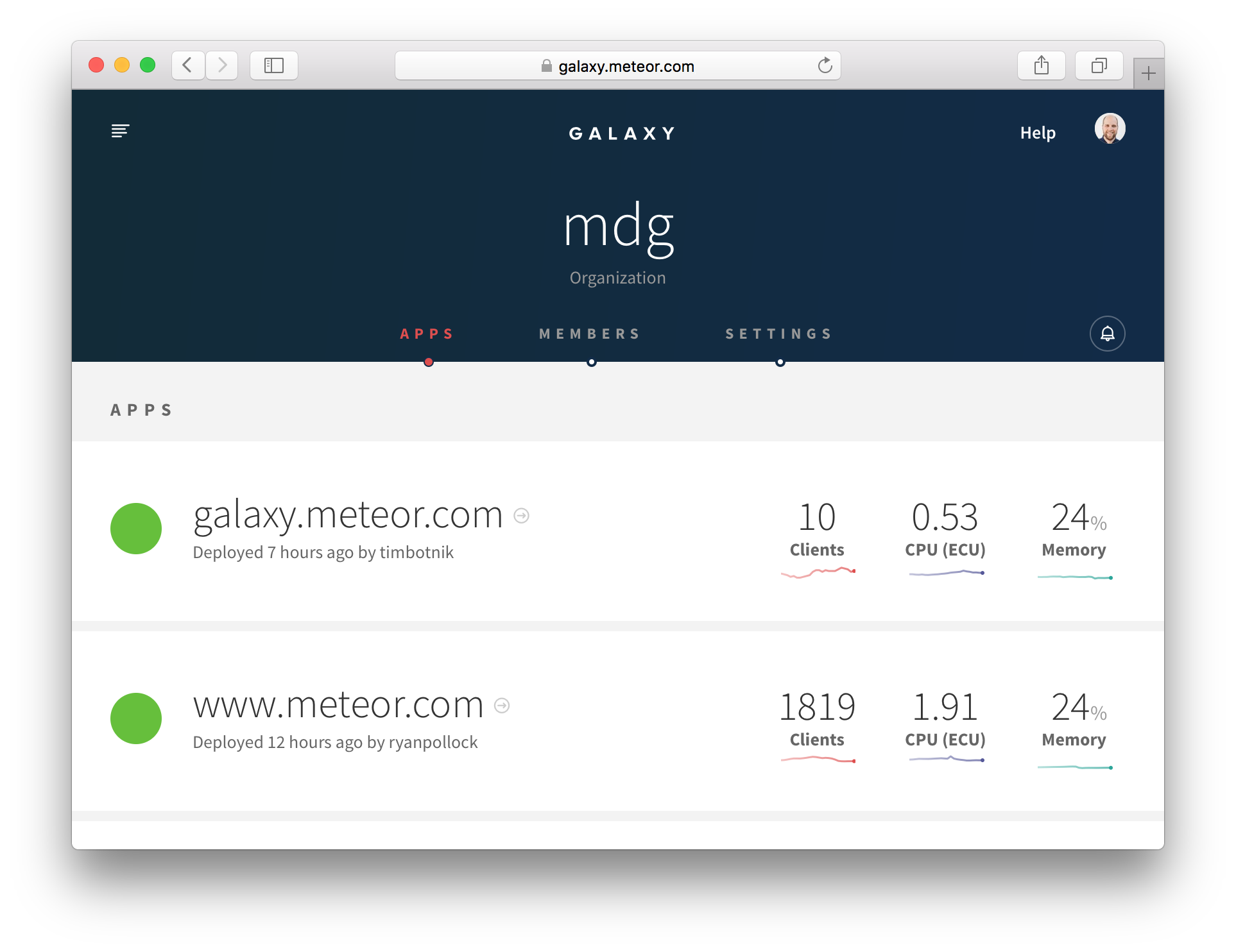Deployment and Monitoring | Meteor Guide